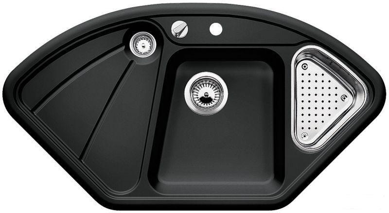 Zlewozmywak Ceramiczny Blanco Delta Czarny 512281 Blanco Lalandepl